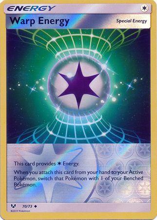 Warp Energy - 70/73 - Uncommon - Reverse Holo