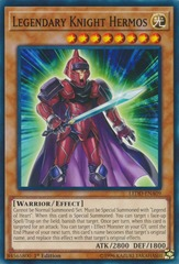 Legendary Knight Hermos - LEDD-ENA09 - Common - 1st Edition