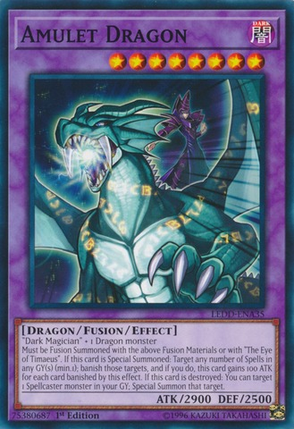 Amulet Dragon - LEDD-ENA35 - Common - 1st Edition