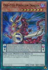 Odd-Eyes Pendulum Dragon - LEDD-ENC01 - Ultra Rare - 1st Edition