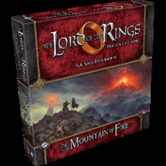 The Lord of the Rings: The Card Game Saga Expansion - The Mountain of Fire
