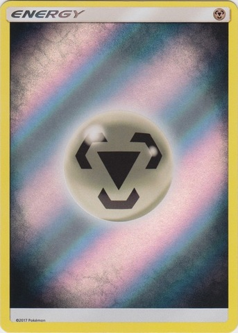 Metal Energy - Reverse Holo