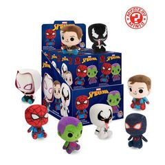 Spider-man - Mystery Mini Plushies - 12Ct Blind Box