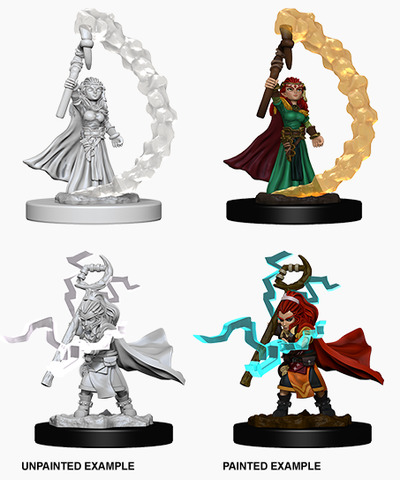 Pathfinder Battles Unpainted Minis - Gnome Female Sorcerer