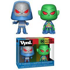 Vynl - Dc Heroes - Martian Manhunter & Darkseid