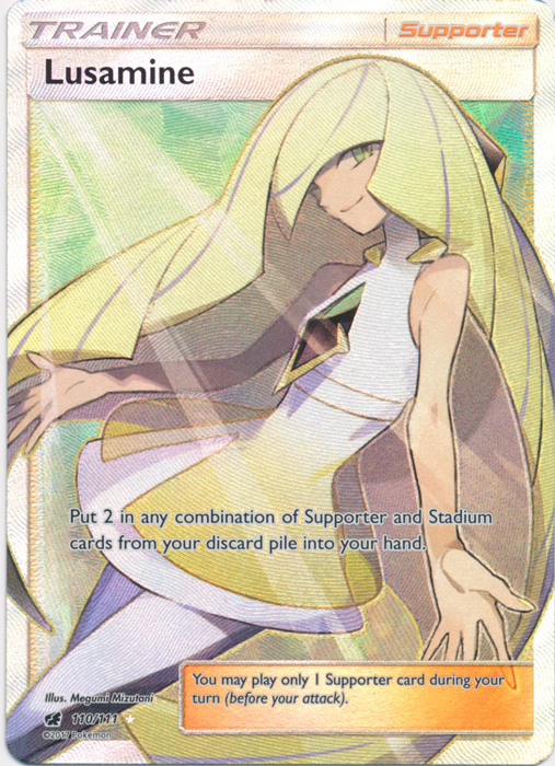 Lusamine Card Case and Sleeves