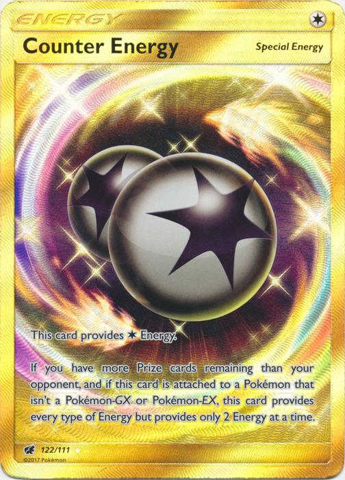 Counter Energy - 122/111 - Secret Rare