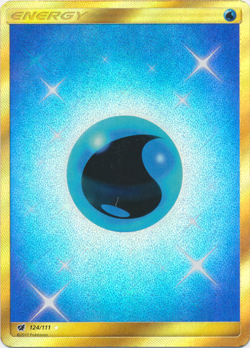 Water Energy - 124/111 - Secret Rare