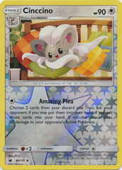 Cinccino - 86/111 - Uncommon - Reverse Holo on Channel Fireball