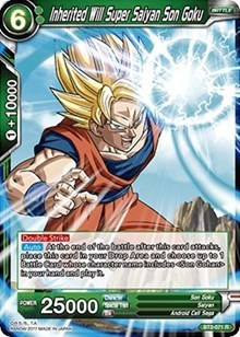 Inherited Will Super Saiyan Son Goku - BT2-071 - R
