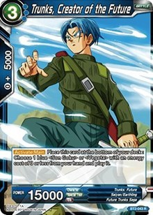 Trunks, Creator of the Future - BT2-043 - R