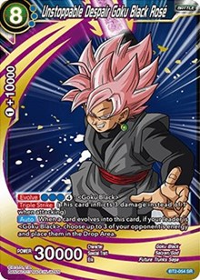 Unstoppable Despair Goku Black Ros? - BT2-054 - SR