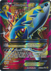 M Sharpedo EX (Alt Art) - XY200a - Premium Trainer's XY Collection