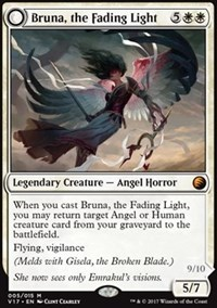 Bruna, the Fading Light // Brisela, Voice of Nightmares - Foil