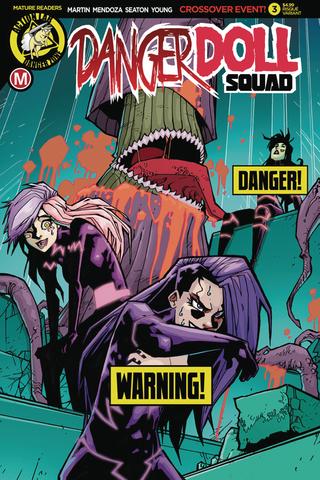Danger Doll Squad #3 (Mature Readers) (Cover B - Maccagni Risque)