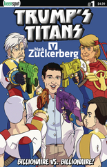 Trumps Titans Vs Mark Zuckerberg #1 Cvr A Zuckerberg Outnumb