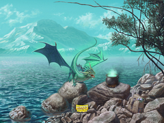 Dragon Shield: Playmat -  Mint (Bayaga)