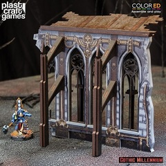 Gothic Millennium Demi-Ruined Side Wall