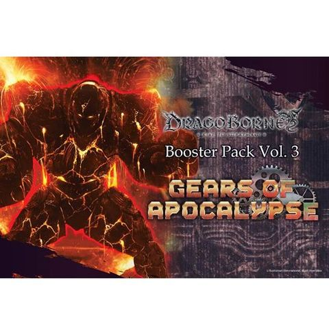 Dragoborne Rise To Supremacy: Gears Of Apocalypse - Booster Pack