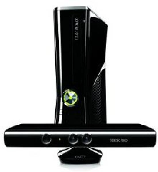 Xbox 360 Slim Console 250GB Kinect Bundle