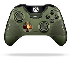 Xbox One Halo 5 Green Wireless Controller