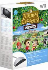 Animal Crossing City Folk & Wii Speak Bundle