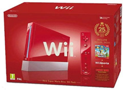 Red Nintendo Wii System