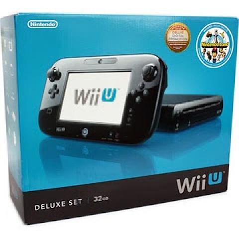 Wii U Console Deluxe Black 32GB