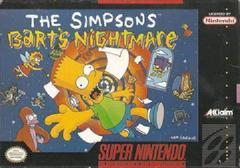 The Simpsons Bart's Nightmare