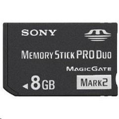8GB PSP Memory Stick Pro Duo