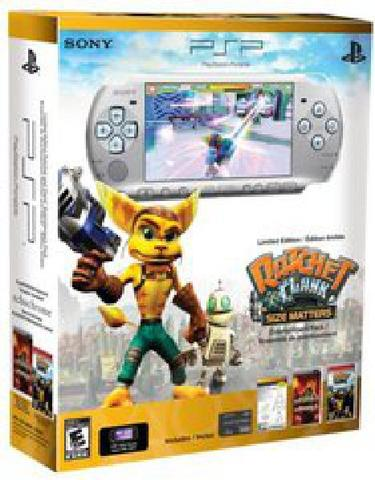 Sony PlayStation Portable PSP 3000 LE - Silver