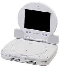 PSOne with LCD Screen