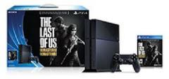 Playstation 4 500GB Last of Us Remastered Console Bundle