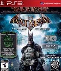 Batman: Arkham Asylum [Game of the Year]