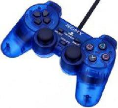 Blue Dual Shock Controller