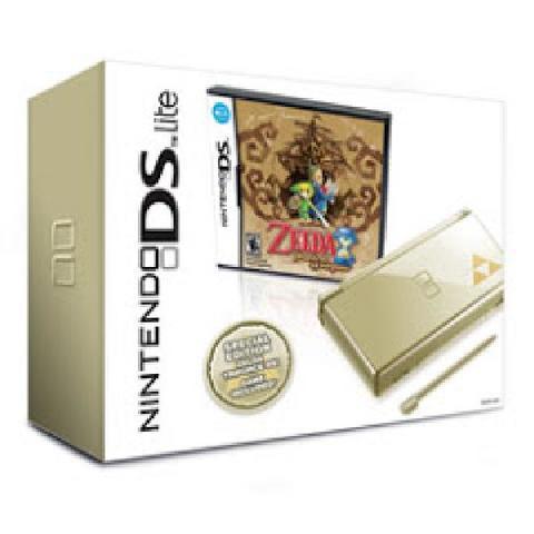 Gold Nintendo DS Zelda Bundle