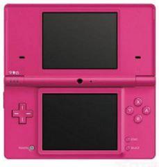 Pink Nintendo DSi System