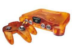 Funtastic Fire Orange Nintendo 64 System