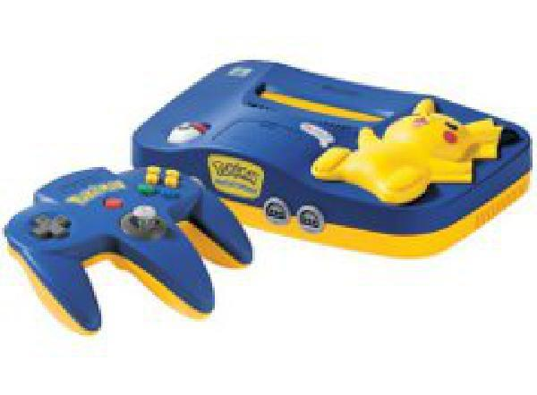 Pikachu Nintendo 64 System