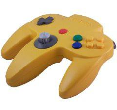 Yellow Official N64 Controller