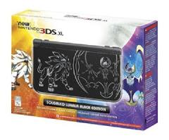 New Nintendo 3DS XL Solgaleo Lunala Black Edition