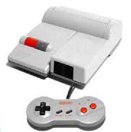 Nintendo Entertainment System NES Console - Top Loading