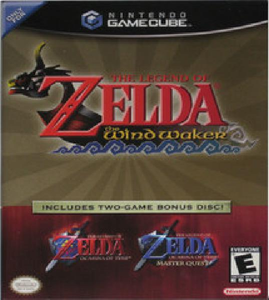 Zelda Wind Waker & Ocarina Master Quest Combo - Video Games
