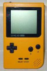 Yellow Game Boy Pocket