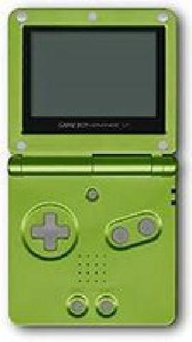 Lime Green Gameboy Advance SP