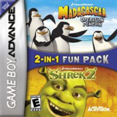 Madagascar Operation Penguin and Shrek 2