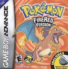 Pokemon Fire Red w/ Wireless Adaptor