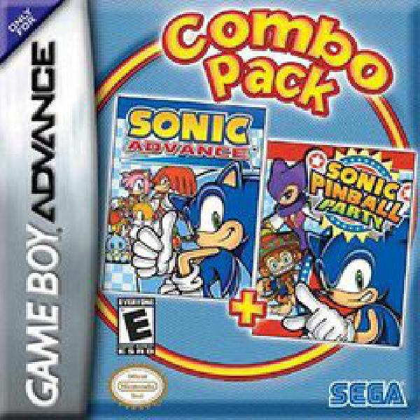 Sonic Advance Sonic Pinball Party Video Games Nintendo Gameboy Advance The Toy Trove