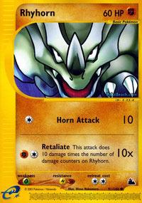 Rhyhorn - 91/144 - Common