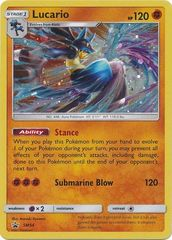 Lucario - SM54 - Cosmos Holo Promo - SM Black Star Promo on Channel Fireball